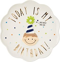 Mud Pie - Birthday Candle Plate
