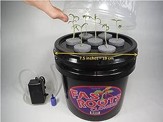 Indoor 7 Site Plant Cloning Machine Easy Root Growing Hydroponics Aeroponics