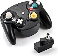 Veanic 2.4G Wireless Gamecube Controller Gamepad Gaming Joystick with Receiver for Nintendo Gamecube,Compatible with Wii (... photo