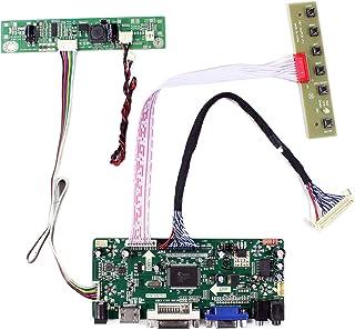 "VSDISPLAY HDMI VGA DVI Audio LCD Driver Board for 17"" M170ETN01.1 1280x1024 6Pin LED Backlight 30Pin LCD Screen"