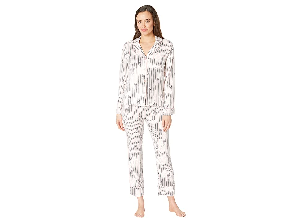 P.J. Salvage Luxe Affair PJ Set (Ivory) Women