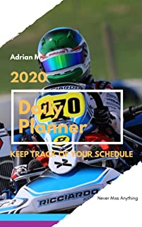 "2020 Daily Planner: 8.5x11"" 12 Months daily Calendar, Space for daily notes, to do list and everything else. Designed to make YOUR life easier. (2020 Plannet Kart Book 1) (English Edition)"