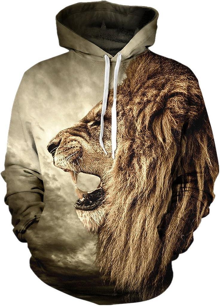 Unisex Animal Print Japan Japan's largest assortment Maker New Blouse Sweatshirt Hooded Kanga Pullover with