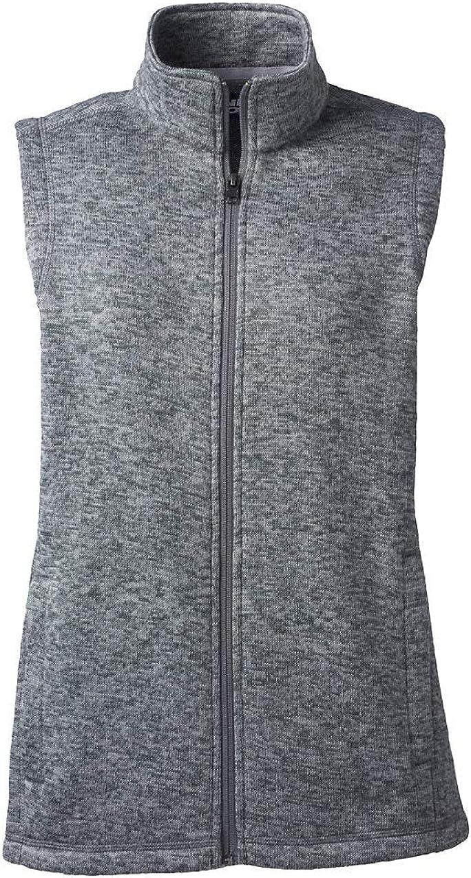 Lands' End Women's Sweater Fleece Vest
