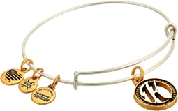 Alex and Ani Initial K Charm Bangle