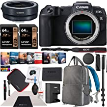 $1398 » Canon EOS RP Full-Frame Mirrorless Digital Camera Body Only with EF-EOS R Lens Adapter & Deco Gear Photography Backpack Essential Accessories Kit Monopod 2X 64GB Memory Cards & Software Bundle