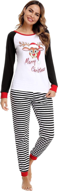 Doaraha Family NEW Cheap mail order sales Christmas Pajamas Set PJS Sleepwear Xmas Matching