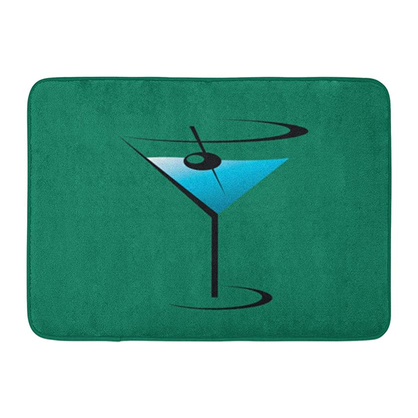 Custom Doormats Martini Glass Cocktail Home Door Mats 15.7