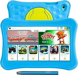 8 tums surfplattor för barn AWOW Tablet PC för barn, Android 11 Go Quad Core, 2GB RAM 32GB Rom, KIDOZ förinstallerad med K...