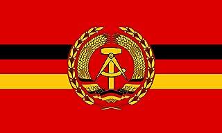 DIPLOMAT Flagge Dienstflagge für Kampfschiffe und  Boote der Volksmarine der Deutschen Demokratischen Republik | Querformat Fahne | 0.06m² | 20x30cm für Flags Autofahnen