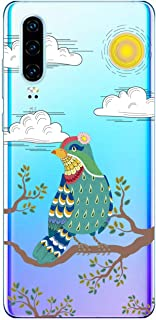 Oihxse Funda Dibujos Animal Lindo Compatible Huawei V30/V30 Pro Carcasa Transparente Clear Silicona TPU Gel Suave Case Ult...