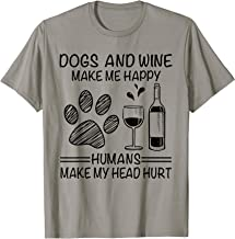 wine makes me happy shirt