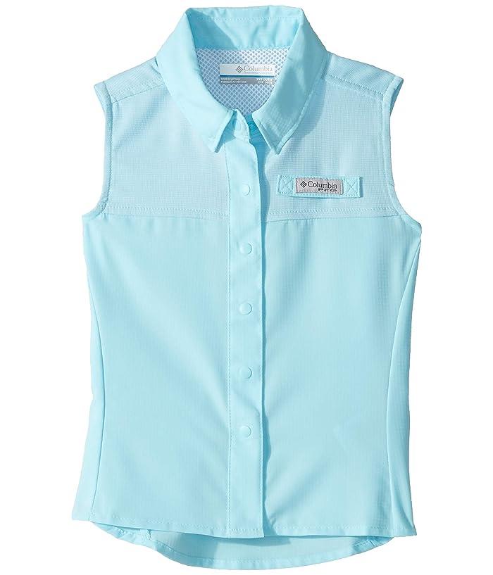 Columbia Kids Tamiamitm Sleeveless Shirt (Little Kids/Big Kids) (Coastal Blue) Girl