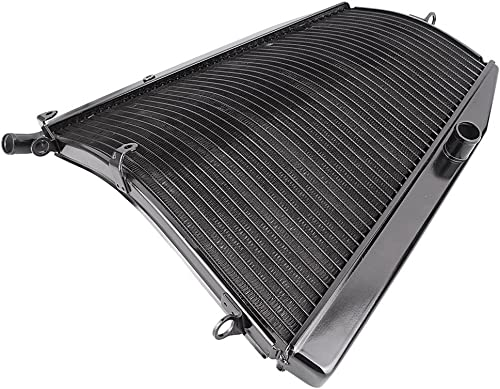 high quality Mallofusa Motorcycle Aluminum outlet online sale Radiator Cooler Replacement Compatible new arrival for Honda CBR1000RR 2004 2005 Black sale