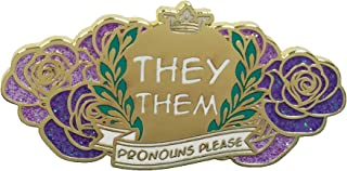 Best they/them enamel pin Reviews