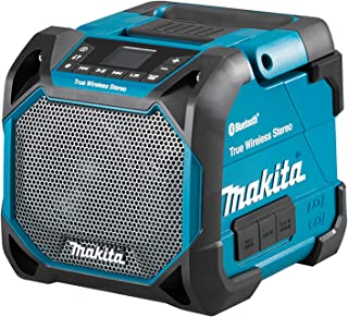 Makita DMR203 Li-ion 10-8V/12V Max CXT / 14.4V /18V LXT Job Site Speaker with Bluetooth - Batteries and Charger Not Included