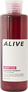 ALIVE アライブ カラーシャンプー 極濃ベリーピンクシャンプー ムラシャン レッドシャンプー 赤 200ml