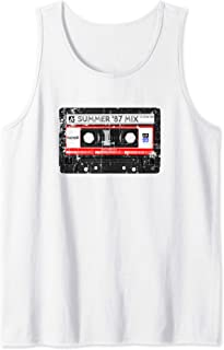 Hip Hop Cassette DJ Quote Vintage Mixtape Gift Tank Top
