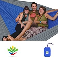 Hammock Bliss Triple - The Largest Portable Hammock on Planet Earth - Best Hammock for Couples, Great for Tall People, Ideal for Families - Quality You Can Trust - 100