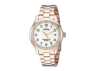 Shinola Detroit Vinton 20141279 (Ivory Matte Velvet Dial) Watches