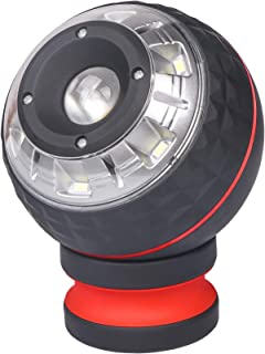 VI-CO 250 Lumens Adjustable COB LED Rotating Work Light with Strong Magnetic Base, Ultra Bright Magnetic LED Light, Spotlight/Floodlight for Car Repair, Workshop, Home Using and Emergency
