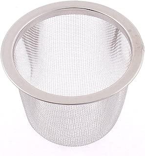 uxcell 茶漉し ティーストレーナー 茶こし メッシュ フリッター ルース スパイス ボール インフューザー 60mm
