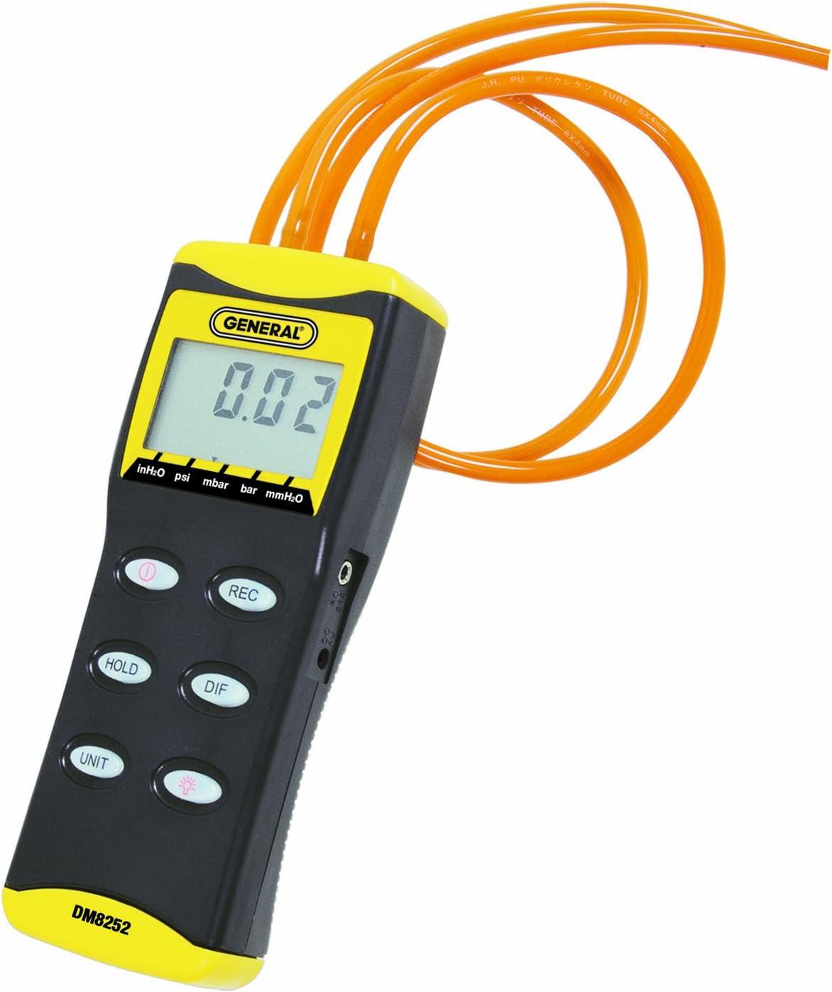 High quality General Tools DMM8252 Hi Digital Brand new Manometer Relolution