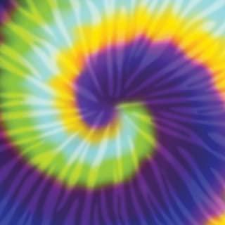 American Crafts 341322 12 x 12 Tie Dye Paper (25 Pack), Multicolor