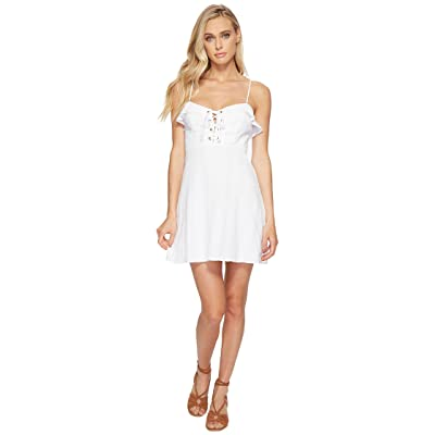Show Me Your Mumu Adrianna Corset Dress (Mirage Gauze White) Women