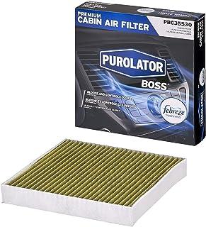 Purolator PBC35530 PurolatorBOSS Premium Cabin Air Filter with Febreze Freshness