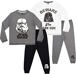 0a7121f72ad05 Star Wars - Ensemble De Pyjamas - Paquet de 2 - Stormtrooper et Darth Vader  -