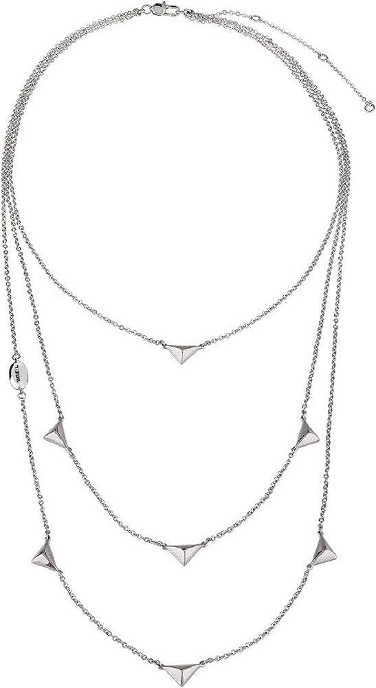 Breil collana donna collezione rockers jewels in acciaio TJ2592