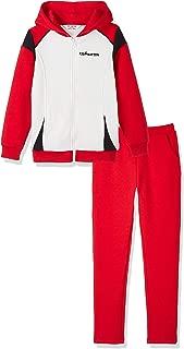 Kid Nation Kids' Sport Hooded Jacket Pants Set for Boys and Girls
