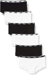 PUMA Women's Mini Short Underwear Multipack