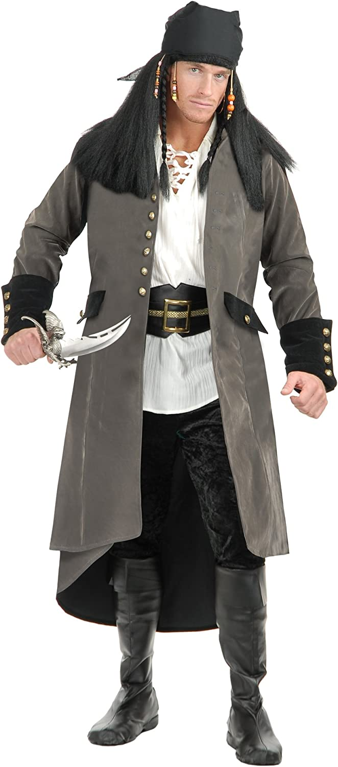 Charades Mens Treasure Island Free shipping / New Coat Dealing full price reduction Pirate