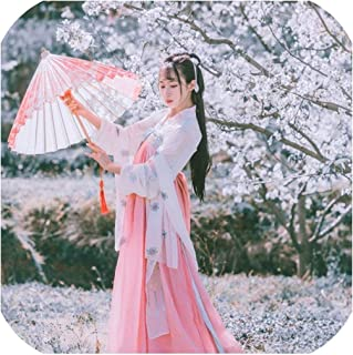 Women Hanfu Costume Ancient Tang Suit Dynasty Stage Clothing Lady Oriental Fairy Dress