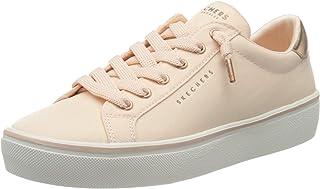 Skechers GOLDIE 2.0 - GENUINE SLIP, Girl's Low-Top Trainers, Pink (Lt.Pink Textile/Rose Gold Duraleather Trim Ltpk), 3 UK (36 EU)