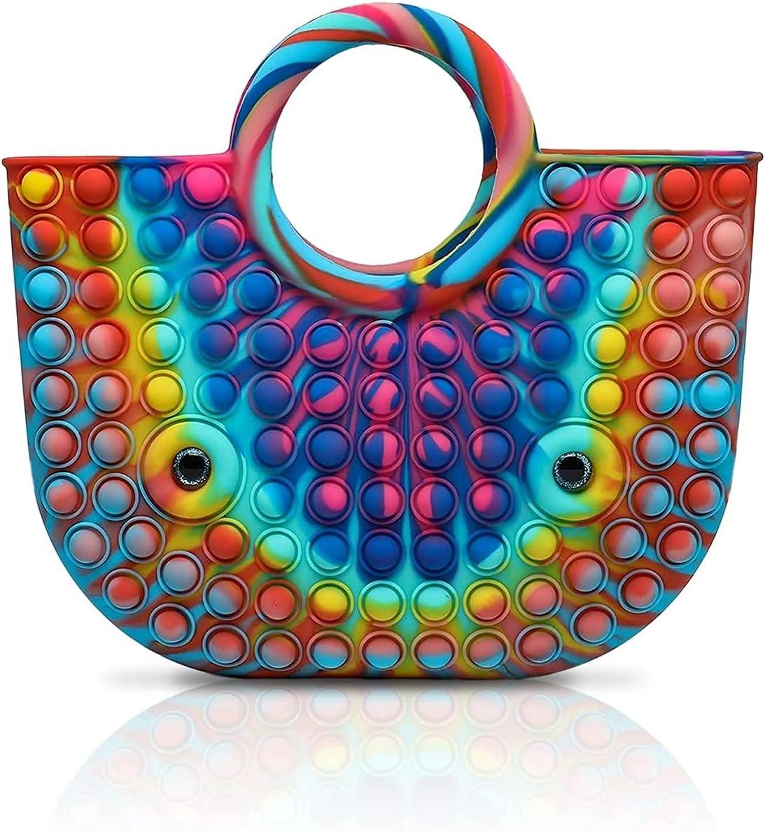 Max 50% OFF 9 Colors Fidget Sensory Popper Silico Max 61% OFF Ladies Handbags for Women