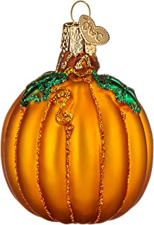 Old World Christmas Ornaments: Pumpkin Glass Blown Ornaments for Christmas Tree