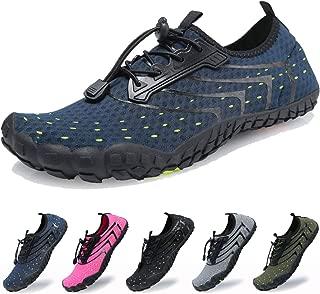 Water Shoes for Women Men Barefoot Quick-Dry Wide Toe Aqua Socks for Swim Diving Surf Beach Pool Aerobics Sport