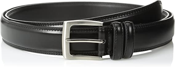 Florsheim Men's Big-Tall Smooth Grain Padded Leather Belt 32MM