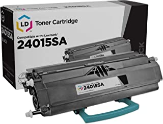 LD Remanufactured Toner Cartridge Replacement for Lexmark 24015SA (Black)