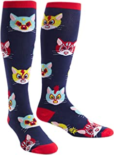 Animals, Wide Calf, Unisex Stretch-It Knee High Socks