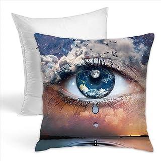 Funda de almohada con almohada de lágrimas debajo de las estrellas 1818inc suave y cómoda