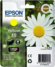 1x–Cartucho de tinta original para EPSON EXPRESSION HOME XP 312, C13T18044010de–Yellow
