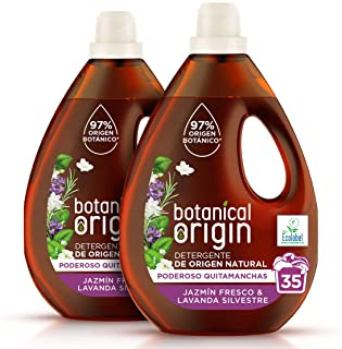 Botanical Origin Detergente para lavadora ecológico apto
