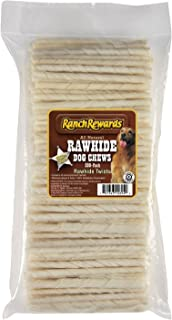 Ranch Rewards Natural Rawhide Dog Twist.