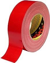 3M Premium weefseltape 389, rood, 25 mm x 50 m (36-pack)