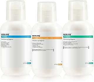 The Acne.org Regimen: Complete Treatment Kit (Travel Size)