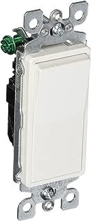 Leviton 5601-2W, 1 pack, White